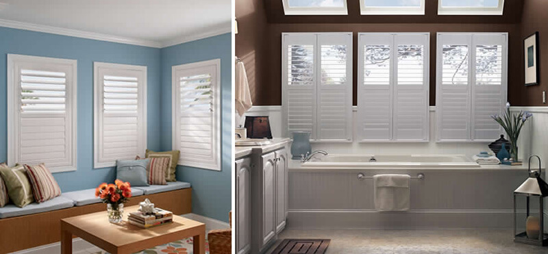 Bed and Bath Shutter Blinds