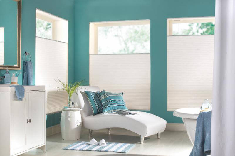 Bedroom Half Blinds
