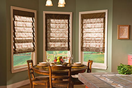 Roman Style Blinds