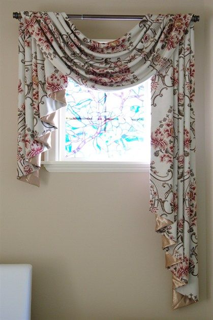 Asymmetrical Decorative Blinds