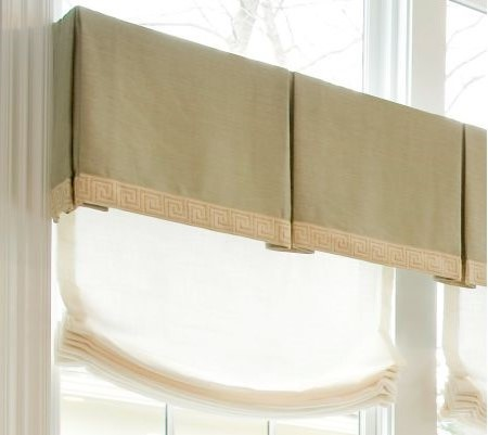 Tan Cloth Blind Cover