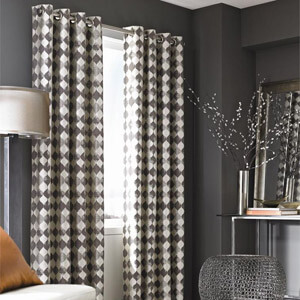 Checkerboard Drapes